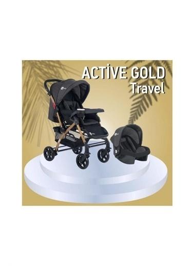 4 Baby 4 Baby Active Travel Sistem Bebek Arabası Siyah